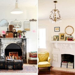 Living Room With Fireplace Decorating Ideas Colonial Style Decorate The Unused In 20 Creative