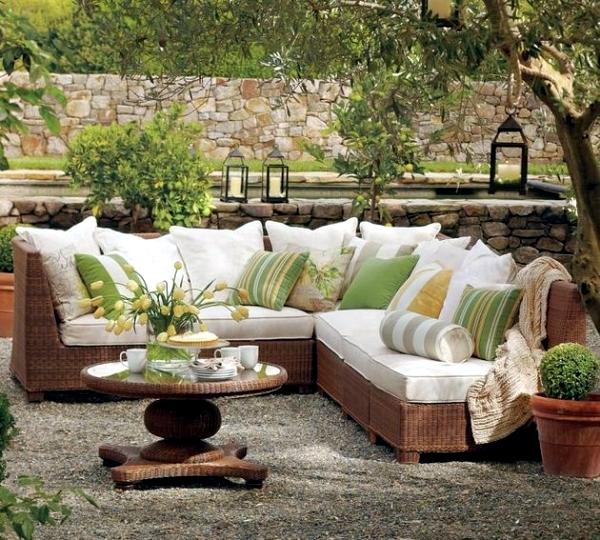 Garden Furniture Made Of Wicker – 12 Beautiful Ideas For Outdoor