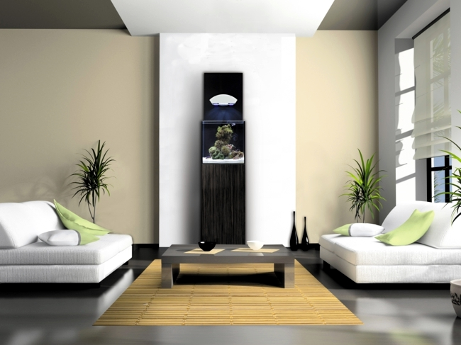 bohemian style living room small furniture layout get the sea into your – nano aquarium ...