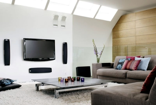 theater living room furniture cottage ideas integrate home into your what to fit while anyone can install a large tv and sofa set before the selection of is very important provide