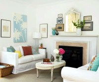 Let the mantelpiece in the summer look good  decoration ...