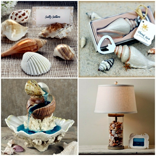 Maritime Decoration Make With Shells Themselves – 15 Craft Ideas
