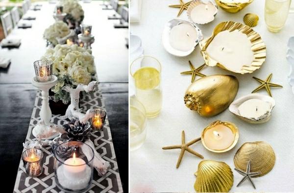 Maritime decoration make with shells themselves  15 craft ideas  Interior Design Ideas  Ofdesign