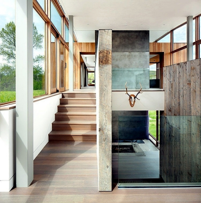 Modern Farm House Design By Highline Partners In Montana USA