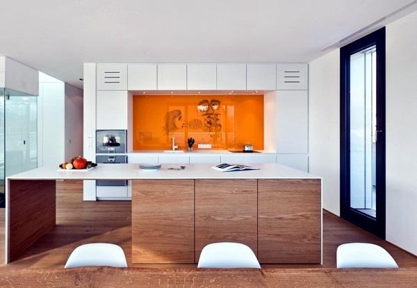 kitchen splash guard brushed nickel lighting modern glass back wall designs offer protection in