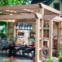 Pergola in the garden  10 interesting ideas for wooden ...