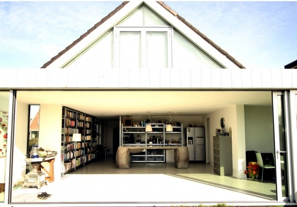 Poured concrete kitchen island  kitchen island design by