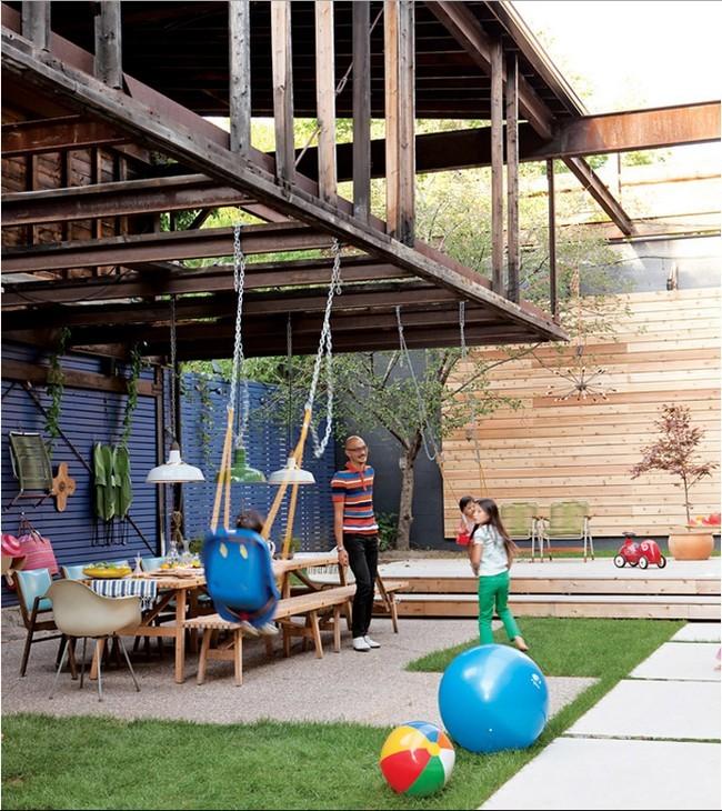 Rebuild The Garden Courtyard Itself – 17 Useful Garden Design