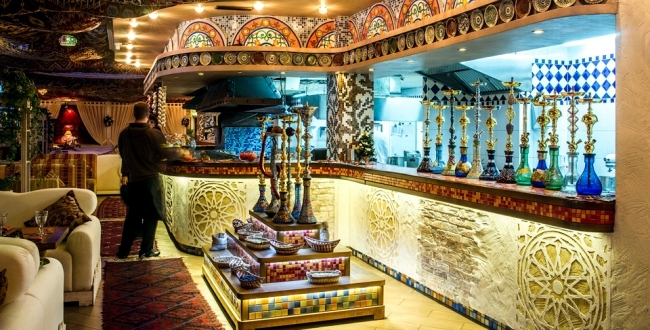Restaurant Design In Moscow With Authentic Oriental