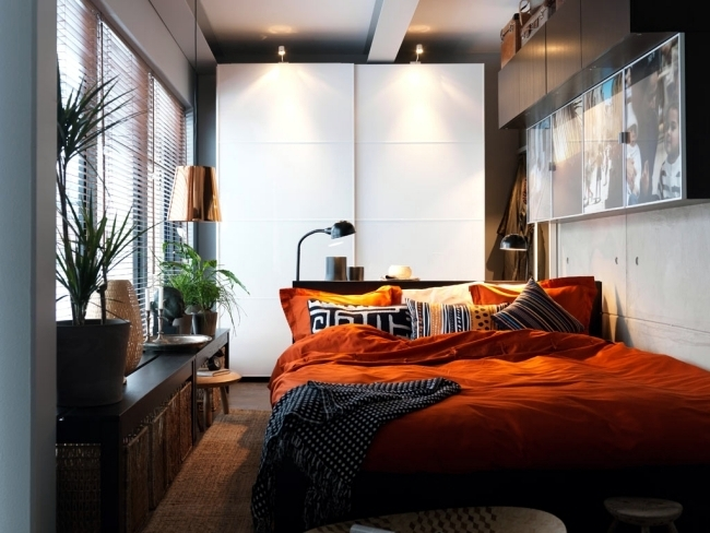 Setting up small bedroom  20 ideas for optimal planning