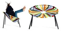 Tie  lounge chair with creative and functional design ...