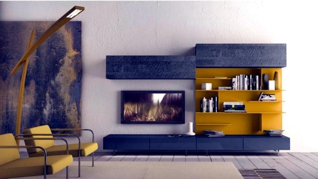 wall shelf design for living room art designs by presotto the modern interior
