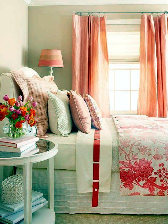 Warm colors for funloving harmonious interior color