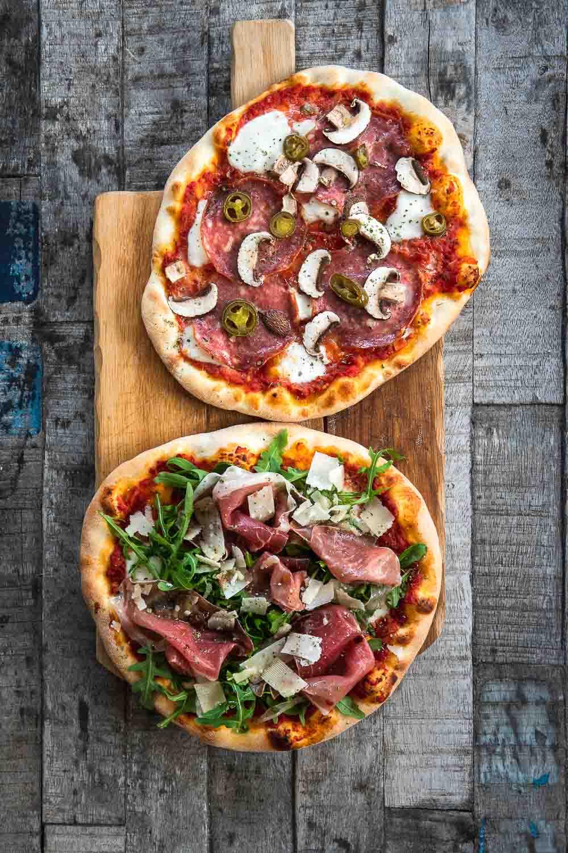 Pizza Teig Grundrezept Ofen offen Foodblog Hessen