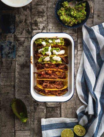 Ofen offen Chili con carne