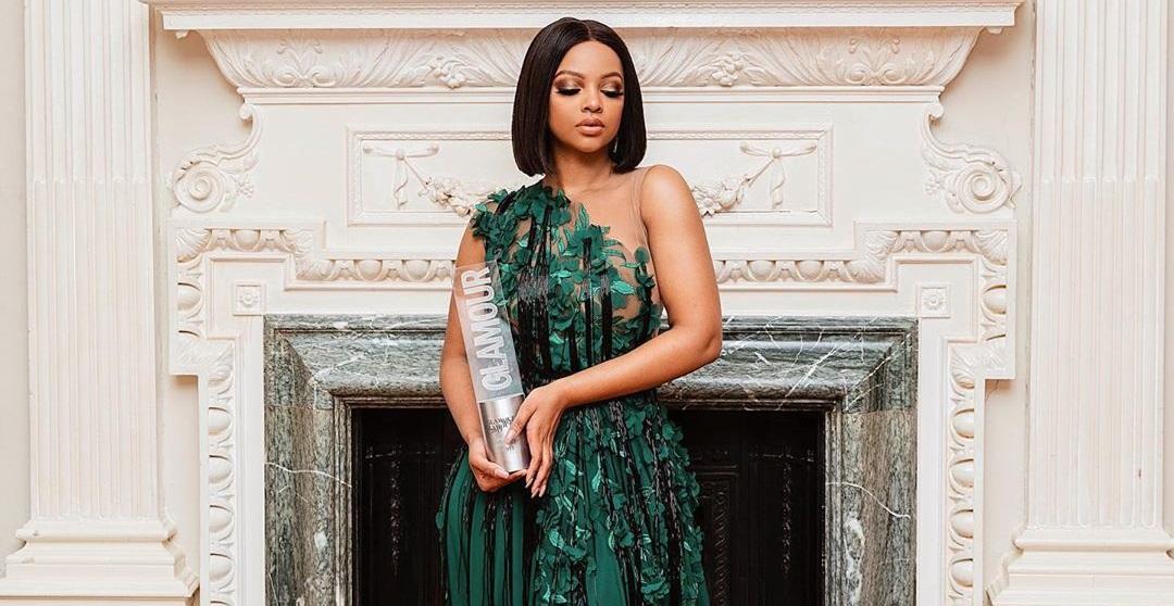 Mihlali Ndamase Glamour Award