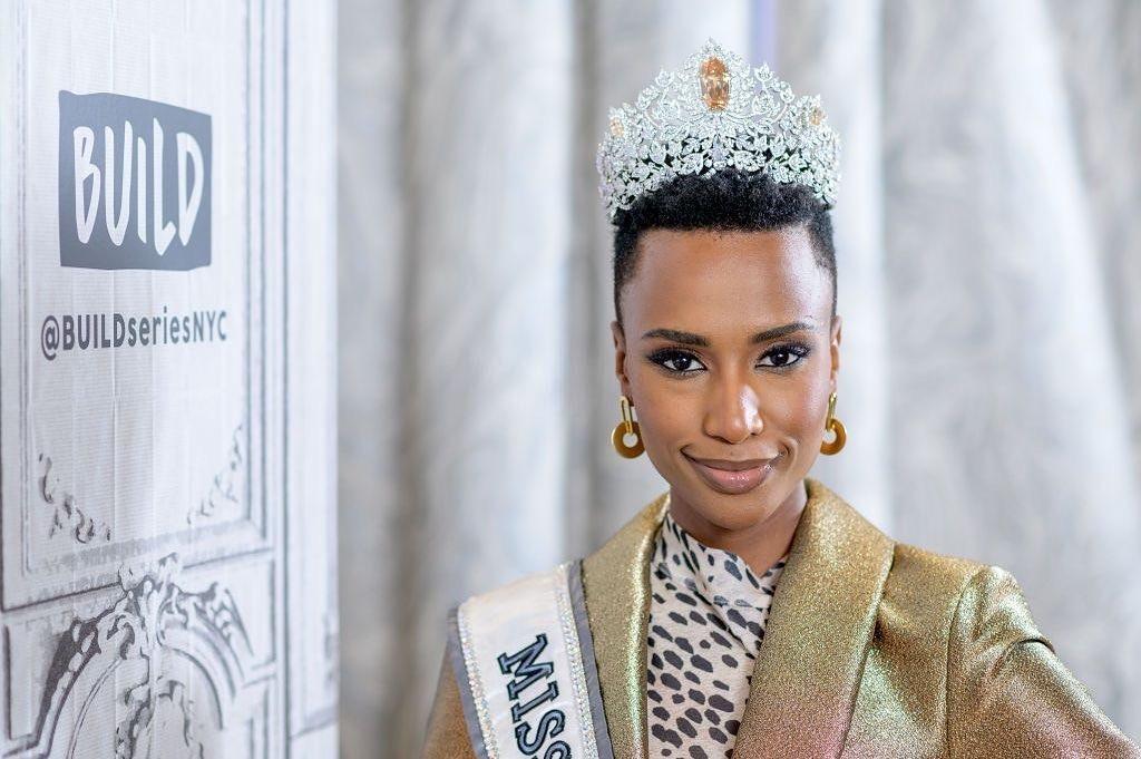 Zozibini Tunzi Miss Universe 2020