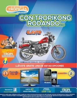 Almacenes tropigas motos UM ofertas - 26ago13