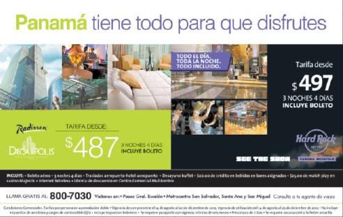 Hard Rock Hotel Panama promotion