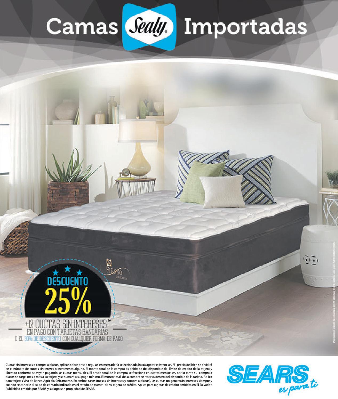 Perfecto Muebles Camas Sears Composición - Muebles Para Ideas de ...