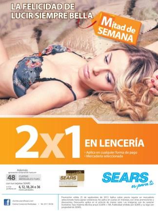 La felicidad de lucir siempre BELLA con Lenceria de SEARS - 25sep13