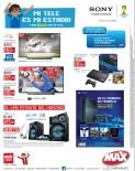 Se el primero en tener la nueva consola PS4 Tiendas MAX - 30sep13