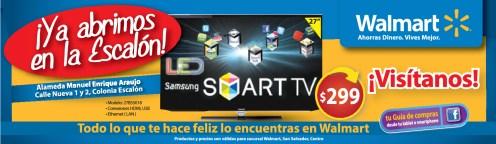 Walmart ofertas LED Samsung smart TV - 25sep13
