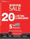 Winter SALE discounts MONTECARLO - 19sep13