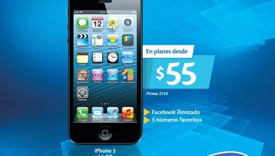 iPhone 5 16GB promocion en TIGO El Salvador