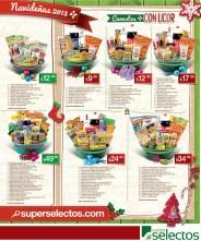 Canastas navideñas con licor SUPER SELECTOS - 31oct13