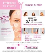 Despide a las arrugas promociones CORPOBELLO - 28oct13