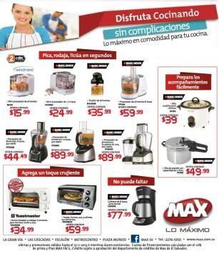 Disfruta cocinando sin complecaciones TIENDA MAX promociones - 31oct13