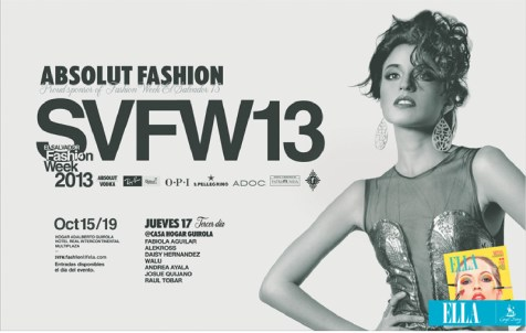 El Salvador Absolut Fashion week 2013