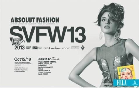 El Salvador Absolut Fashion week 2013