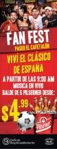 FAN FEST paseo cafetalon promociones dia del clasico - 25oct13