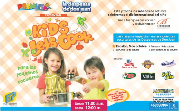 La Despensa de Don Juan KIDS LET COOK - 04oct13