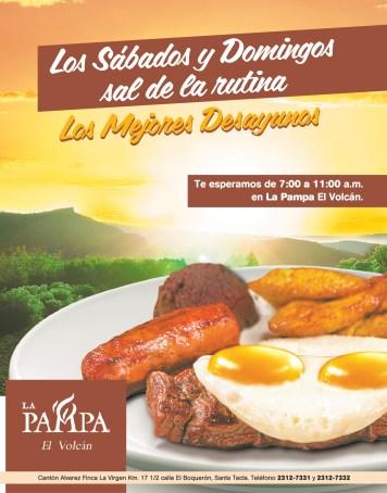 Los mejores desayunos en LA PAMPA el volcan - 04oct13
