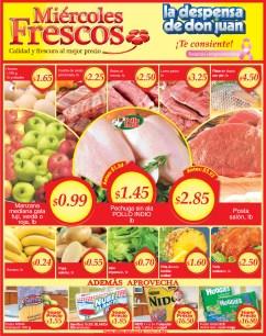 Miercoles Frescos La Despensa de Don Juan - 09oct13