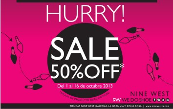 NINE WEST sale discount 50 OFF - 01oct13