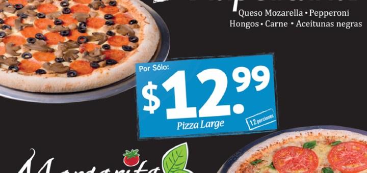 New Pizza mas sabor DOMINOS PIZZA - 07oct13