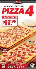 Nuevos sabores PIZZA 4 solo en Pizza Hut - 23oct13