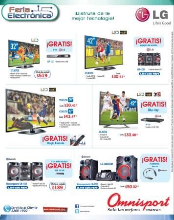 OMNISPORT pantallas LG LED en ofertas - 31oct13