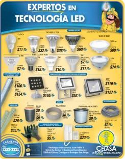 Ofertas CELASA EL Salvador tecnologia LED - 07oct13