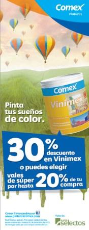 Pintunras COMEX descuentos - 16oct13