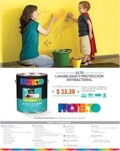 Pinturas PROTECTO ofertas y promociones - 21oct13