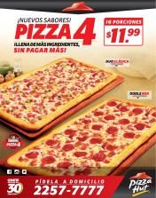 Pizza 4 son 16 porciones para disfrutar - 21oct13