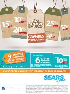 SEARS promocion de hoy miercoles - 16oct13