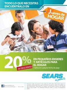 SEARS promociones de hoy jueves de hogar - 10oct13