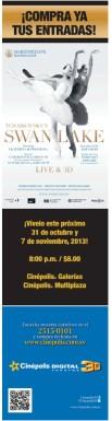SWAN LAKE live and 3D en CINEPOLIS - 30oct13