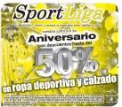 SportLiga descuento en ropa y calzado - 15oct13